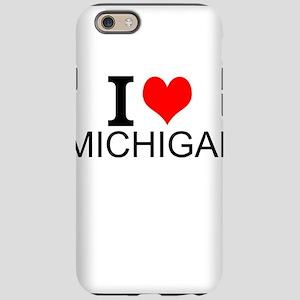I Love Michigan iPhone 6/6s Tough Case