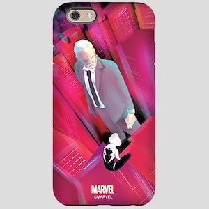 spider-gwen & captain stacy iPhone 6 Tough Case