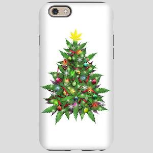 Marijuana Christmas Tree iPhone 6 Tough Case