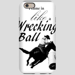 Barrel Racer: Wrecking Ball iPhone 6/6s Tough Case