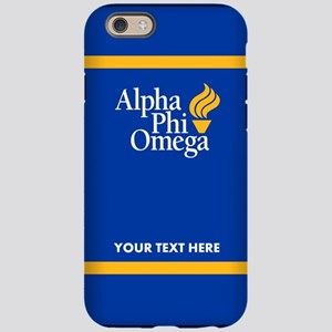 Alpha Phi Omega Personalize iPhone 6/6s Tough Case