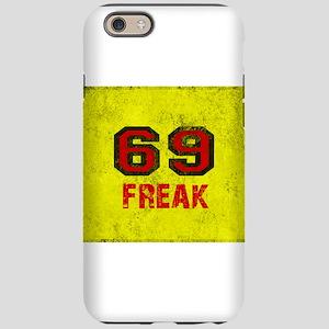 69 FREAK red black yellow vint iPhone 6 Tough Case
