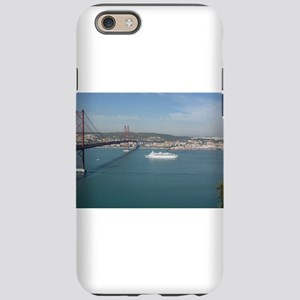 Red Bridge over the River iPhone 6/6s Tough Case
