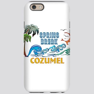 3D Palms Waves Sunset Spring B iPhone 6 Tough Case