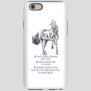 SEES YOU AS AN EQUAL iPhone 6 Tough Case