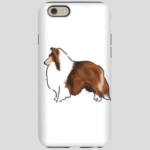 sable sheltie iPhone 6 Tough Case