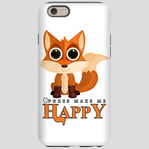 Foxes Make Me Happy iPhone 6/6s Tough Case