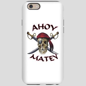 Pirate Skull Ahoy iPhone 6 Tough Case