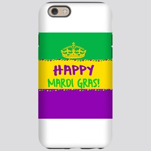 Happy Mardi Gras Crown and Bea iPhone 6 Tough Case