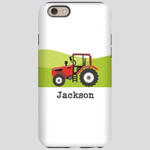Personalized Red Tractor iPhone 6/6s Tough Case