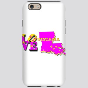 LOUISIANA LOVE PURPLE GOLD iPhone 6 Tough Case