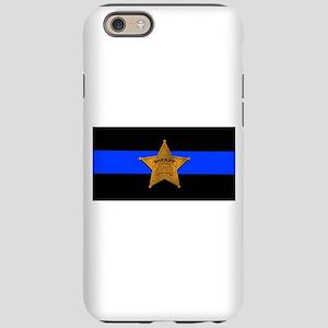 Sheriff Thin Blue Line iPhone 6 Tough Case