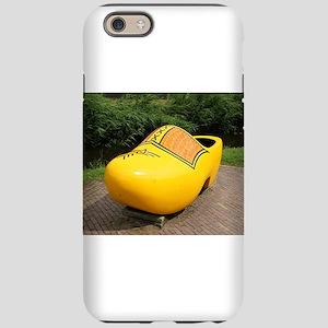 Giant yellow clog, Holland iPhone 6 Tough Case