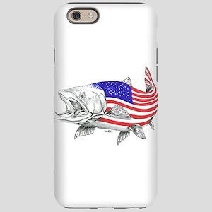 Steel Head American Salmon iPhone 6/6s Tough Case