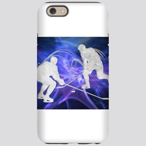 Ice Hockey Players Fighting fo iPhone 6 Tough Case