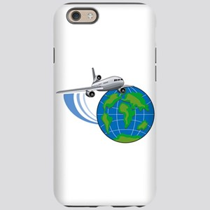 Commercial Jet Around World iPhone 6/6s Tough Case