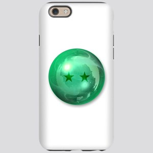 Lucky Two Stars Ball (Green iPhone 6/6s Tough Case