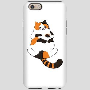 Kawaii Calico Lying Cat iPhone 6/6s Tough Case