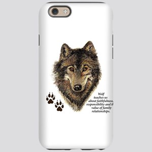 Wolf Totem Animal Guide Wat iPhone 6/6s Tough Case