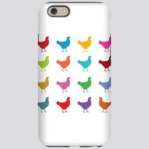 Colorful Chickens iPhone 6 Tough Case