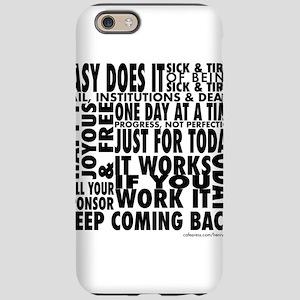slogan-shirt iPhone 6/6s Tough Case