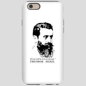 Theodor Herzl - Israel Quot iPhone 6/6s Tough Case