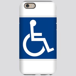 Handicap Sign iPhone 6 Tough Case
