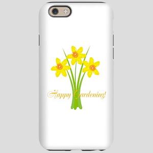 Watercolor Daffodils Gardener iPhone 6 Tough Case