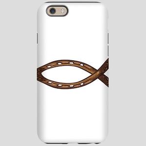 horse shoe FISH iPhone 6 Tough Case