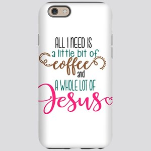 coffee and jesus iPhone 6/6s Tough Case