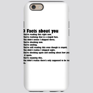 10 Facts about you iPhone 6/6s Tough Case
