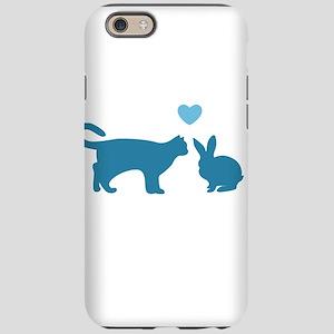 Cat Meets Bunny iPhone 6 Tough Case