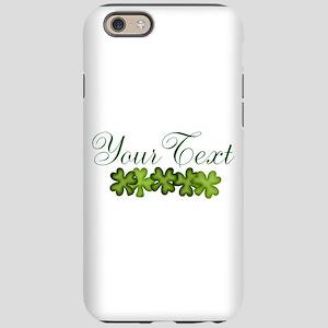 Personalizable Shamrocks iPhone 6/6s Tough Case