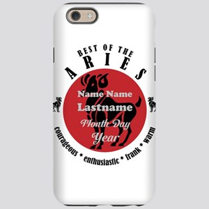 Custom Text Aries Horoscope Zodiac Sign iPhone 6 T