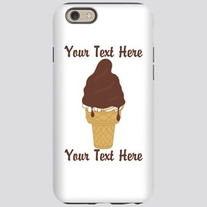 PERSONALIZED Chocolate Dip Ice iPhone 6 Tough Case
