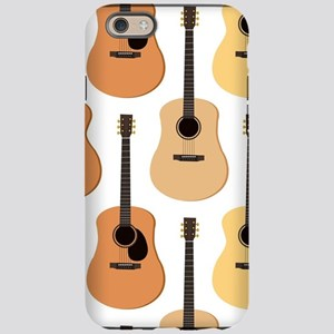 Acoustic Guitars Pattern iPhone 6 Tough Case