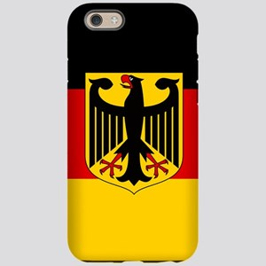 Flag: German & Coat of Arms iPhone 6/6s Tough Case