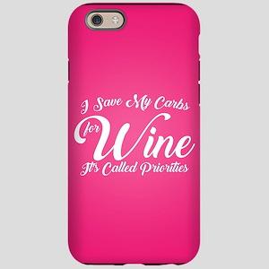 SATC Wine Pink iPhone 6/6s Tough Case