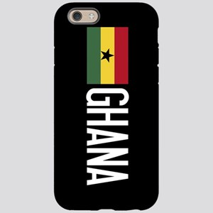 Ghana: Ghanaian Flag & Ghan iPhone 6/6s Tough Case