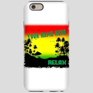 Rasta island iPhone 6/6s Tough Case