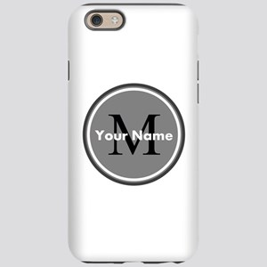 Custom Initial And Name iPhone 6 Tough Case