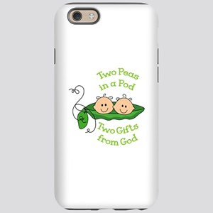 TWO GIFTS FROM GOD iPhone 6 Tough Case
