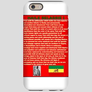 Selassie Speech to U N 1963 Wa iPhone 6 Tough Case