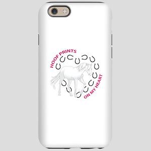 HOOF PRINTS ON MY HEART iPhone 6 Tough Case