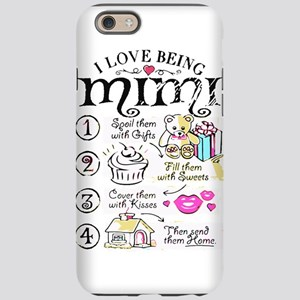 I Love Being Mimi T Shirt iPhone 6/6s Tough Case