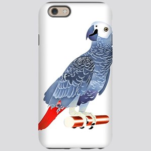 African Grey Parrot iPhone 6 Tough Case