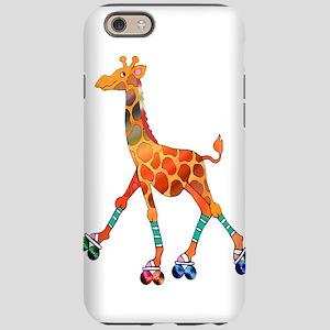 Roller Skating Giraffe iPhone 6 Tough Case