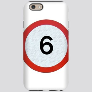 Speed sign 6 iPhone 6 Tough Case