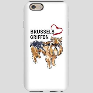 BRUSSELS GRIFFON LOVE iPhone 6 Tough Case