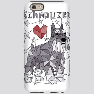 Geometric Schnauzer iPhone 6/6s Tough Case